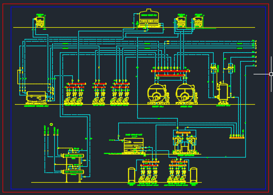 پلان تاسیسات مکانیکی
